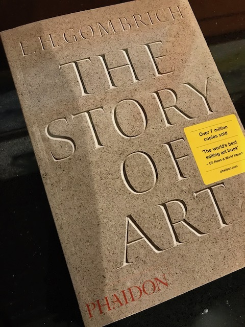 Story of Art book
