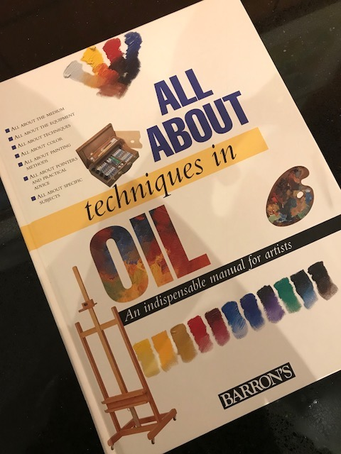 Techniques in oil book