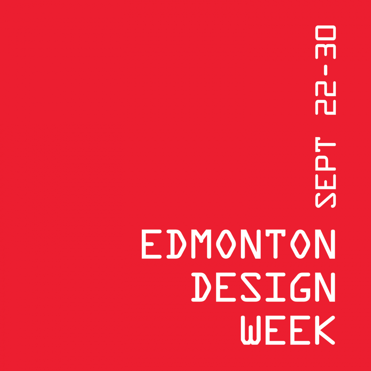 Edmonton Design Week logo