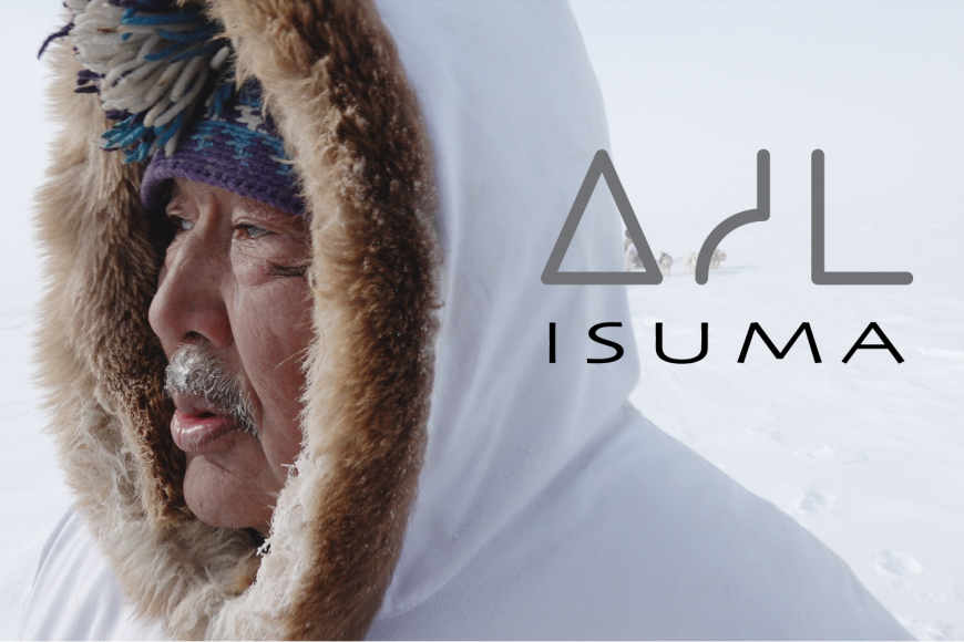 Isuma title treatment