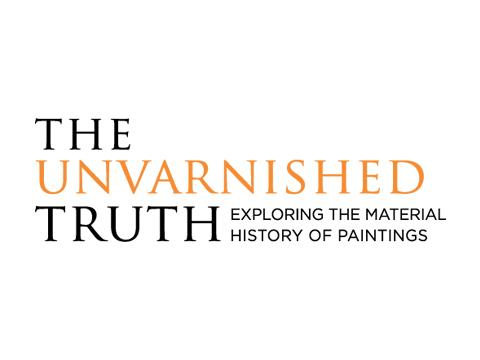 Unvarnished Truth exhibition title treatment