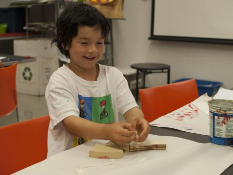 Kids Drop-in: Paint a Puzzle
