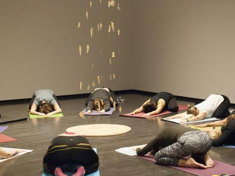 Yoga in the Gallery | Mondays at Lunch