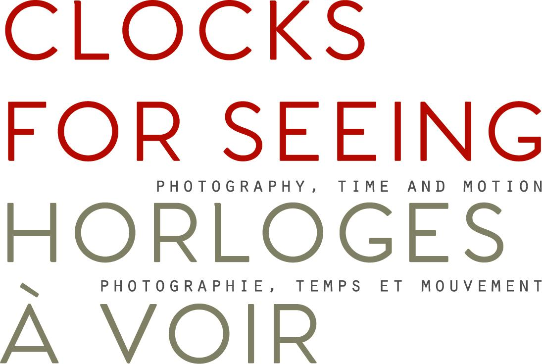 Clocks For Seeing title treatment
