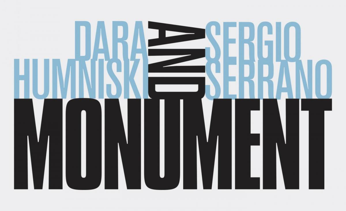 Monument title treatment