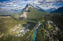 Aerial View of Banff Centre