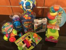 Photo of a variety of Fat Brain Toy products