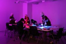 Image: Camille Turner, Afronautic research lab at ARTEXTE, Montreal. Photo courtesy the artist and ARTEXTE.
